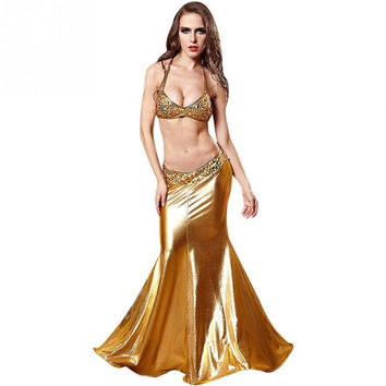 Women Mermaid Dresses Cosplay Role Playing Clothes Erotica Luxury Halloween Costumes