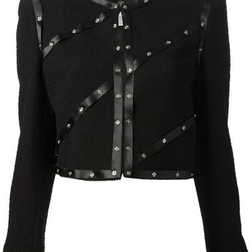 Chanel Vintage Snap Embellished Jacket