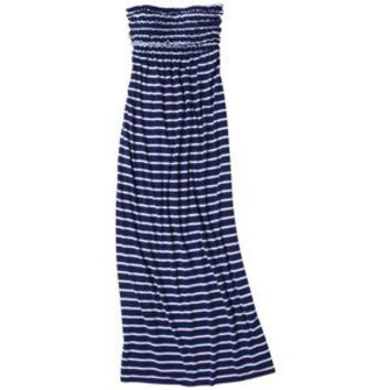 Xhilaration® Junior's Stripe Ruffle Tube Maxi Swim Coverup Dress -Assorted Colors