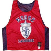 Norge Norway Lacrosse Sublimated Reversible Lax Pinnie