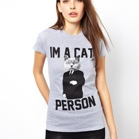 Goodie Two Sleeves I'm A Cat Person T-Shirt