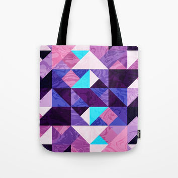 Geometric VII Tote Bag by tmarchev