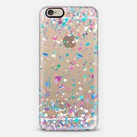 Girly Confetti Explosion Transparent iPhone 6 case by Organic Saturation   Casetify