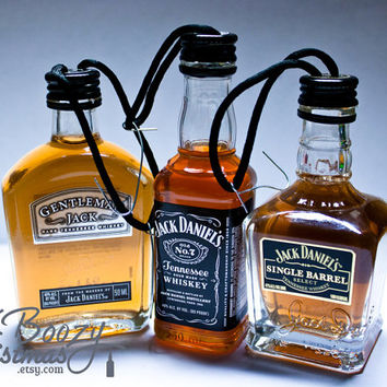 Jack Daniels Ornament Value Pack-- All Three Jack Daniels Christmas Tree Ornaments.