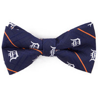 MLB Detroit Tigers Oxford Bow Tie