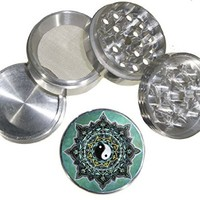 Fashion Design Indian Aluminum Spice Herb Grinder Item # G123114-0022