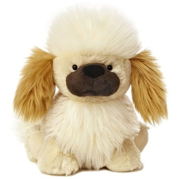 "Aurora World Wuff & Friends Tippsy Pekingese Plush, 10"" Tall"