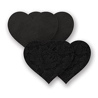 Nippies Basic - Black Heart