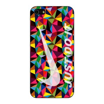 Nike Just Do It Geometrick iPhone 5/5S/SE Case