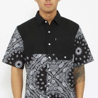 Crooks & Castles, Squad Life Button-Up Shirt - Tops - MOOSE Limited