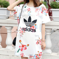 shosouvenir : Adidas: Fashion casual lady dress