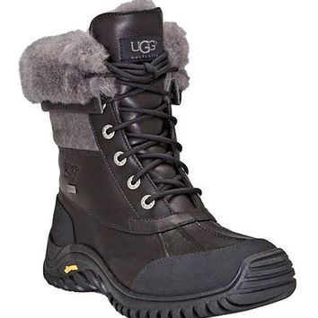 QIYIF UGG® Adirondack II Cold Weather Lace Up Waterproof Duck Boots