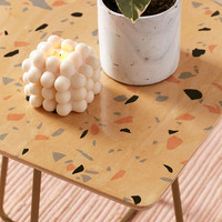Emanuela Carratoni For Deny Sweet Terrazzo Texture Side Table | Urban Outfitters