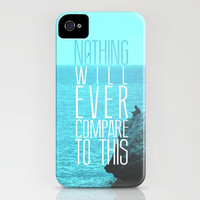 Nothing Compares iPhone Case by justjeff | Society6