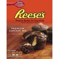 Betty Crocker Reese's Peanut Butter & Chocolate Cupcake Mix 14.5 oz