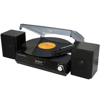 Boytone BT-14TBB-SP 3 Speed Stereo 33-45-78 RPM Turntable with 2 detachable Speakers