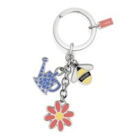 COACH Garden Multi Mix Key Ring