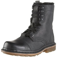 Dr. Martens Men's Pier Boot,Black,8 UK (US Men's 9 M)