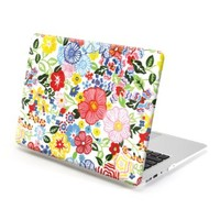 MacBook Air 13 Case, GMYLE Hard Case Print Frosted for MacBook Air 13 inch (Model: A1369 and A1466) - Blossom Floral Pattern Rubber Coated Hard Shell Case Cover