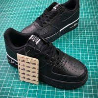 Nike Air Force 1 Af1 Low Black 488298 160 Sport Running Shoe - Best Online Sale