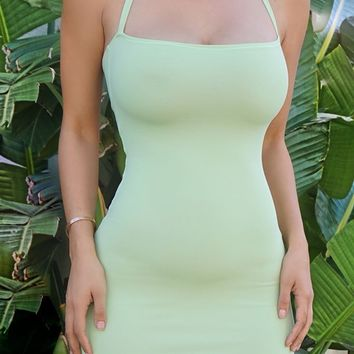 Lola Bodycon Dress- MINT