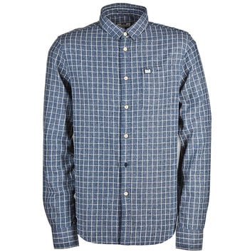 Weekend Offender Simpson Check Shirt - Blue