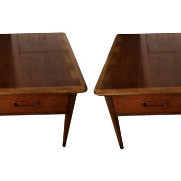 Mid-Century Modern End Tables, Pair