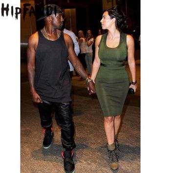 HIPFANDI New Kanye west Hip Hop big and tall Fashion zippers  Pant Men Joggers dance urban Clothing Mens faux leather Pants