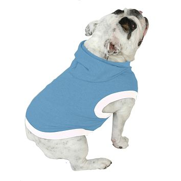 English Bulldog BEEFY Hoodie T-Shirt - Fits 31 to 55 Pound Dog - Available in 6 Colors!