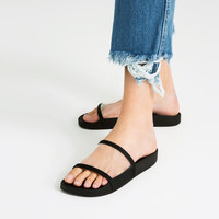 VINYL SLIDES - View all-SHOES-WOMAN | ZARA United Kingdom