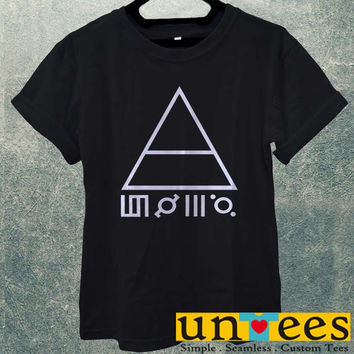 Low Price Men's Adult T-Shirt - 30 Second To Mars Logo design
