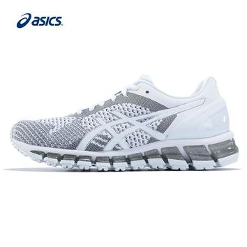 Original ASICS Women Shoes GEL-QUANTUM 360 KNI Breathable Cushio 6fa0fe8c8b