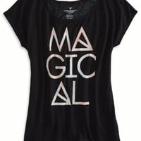 AEO Women's Mystic Graphic T