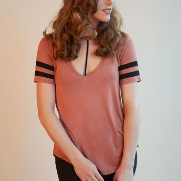 T-Front Tunic Top - 3 Colors!