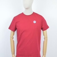North Sails AW17 Bollo T-Shirt in Red