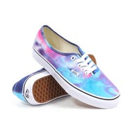 Vans Authentic (Tie Dye Pink/Blue) Women's Shoes