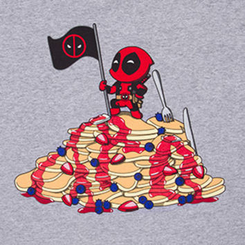 Deadpool Pancake Mountain Tee