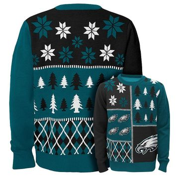 Philadelphia Eagles Ugly Sweater - Boys 8-20|NFL Ugly Sweater - Boys 8-20