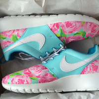 Lilly Pulitzer Custom Nike Roshe Runs