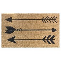 "Doormat Arrows Coir Black 18""x30"" - Threshold™"