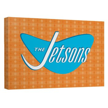 Jetsons - Jetsons Logo Canvas Wall Art With Back Board