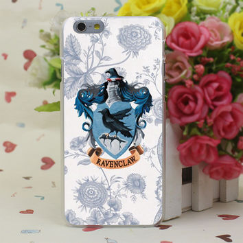 Ravenclaw Hard Case Cover for iPhone 4 4S 5 5S SE 5c 6 6s 7 7 Plus