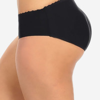 Cheap Trendy Butt Booster Underwear Black in SHAPEWEAR