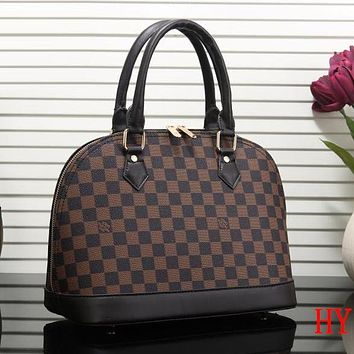Perfect Louis Vuitton Women Fashion Leather Satchel Bag Shoulder Bag Handbag