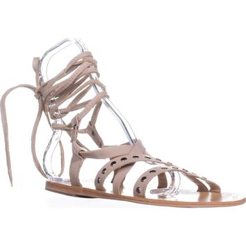 Charles by Charles David Steeler Gladiator Sandals, Nude, 7.5 US