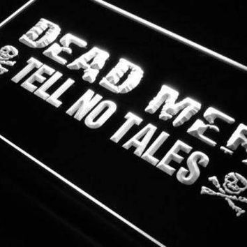 Dead Men Tell No Tales Pirate LED Neon Light Sign