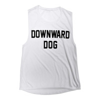 DOWNWARD DOG [MUSCLE TANK]