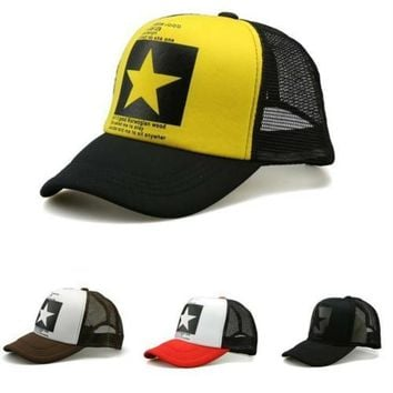 New Baseball Snapcap Women Big Stars Cap Unisex Hip Hop Hat Men Caps Sport Hats