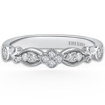 "Kirk Kara ""Dahlia"" Petite Diamond Wedding Band"