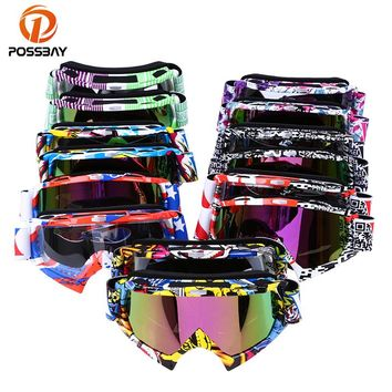 Oculos Motocross Goggles Ski Snow Skate Glasses Helmet MX Mask Eyewears Sun Glasses Collapsible For Motorcycle Dirt Bike ATV MX